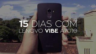 15 DIAS COM O LENOVO VIBE A7010