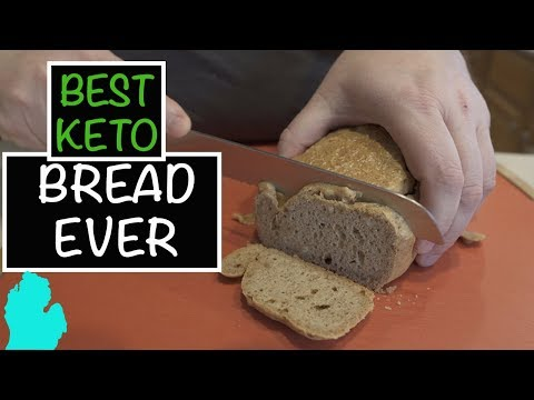 Macadamia Fat Bread - Best Keto Bread Recipe We've Found Yet!