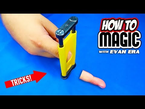 10 Magic Tricks You Can Do
