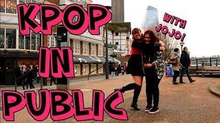 Dancing Kpop in Public | London【Xina + Jojo】