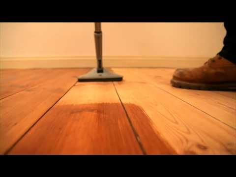 How to Varnish a Wooden Floor - How To Varnish A Wooden Floor - YouTube