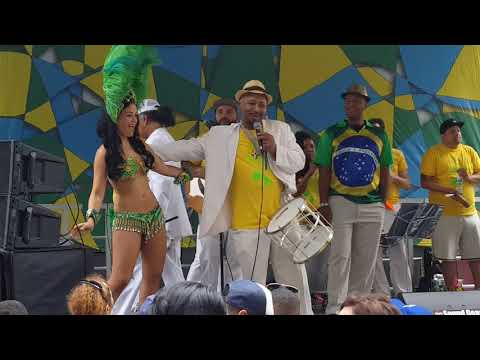 Preparation for Brazil Day 2017 NYC pt.8 of 9 Samba Punta Music Dancing