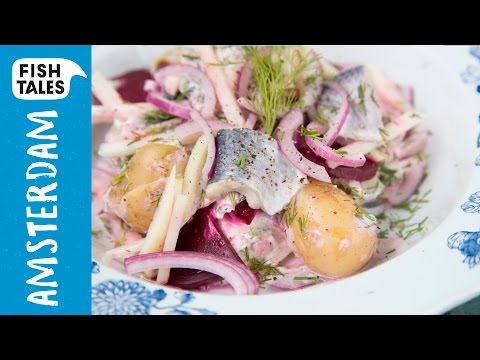 Pickled HERRING & Beetroot Salad | Bart's Fish Tales