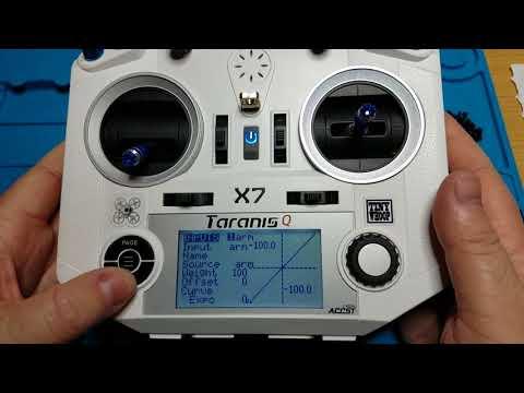 Setup new model taranis qx7