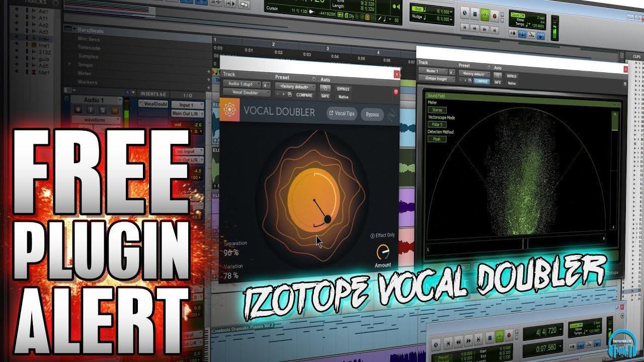 FREE PLUGIN ALERT | iZotope Vocal Doubler