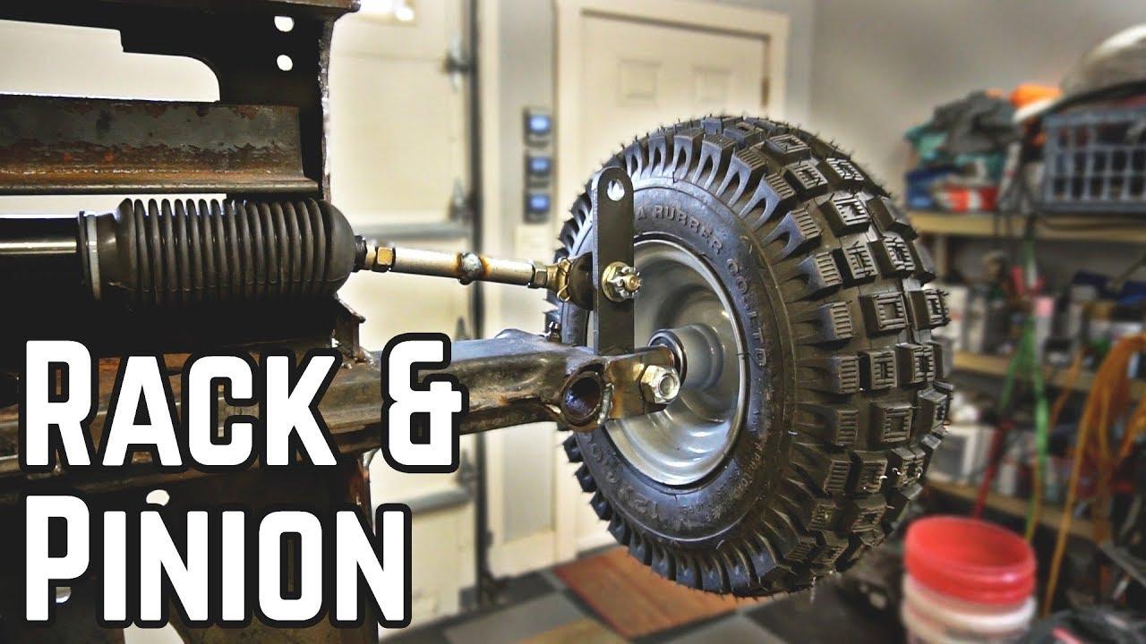 Rack & Pinion Steering | 50HP Lawn Mower Pt  2