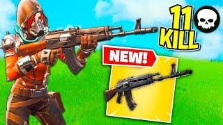 Fortnite ITA - 11 KILL CON LA NUOVA AK-47!!