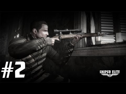 "Sniper Elite V2 Walkthrough Part 2 - ""Schöneberg Streets"" - (no commentary)"