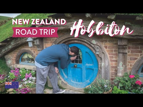 New Zealand Road Trip, Hobbiton and Hamilton - Part 3
