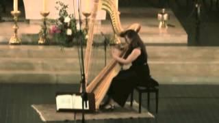 Fantaisie pour harpe d'Alfred Desenclos - Clara Izambert