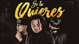 Si Tu Quieres - Ozuna Ft Anuel AA & Pusho (Audio Oficial)