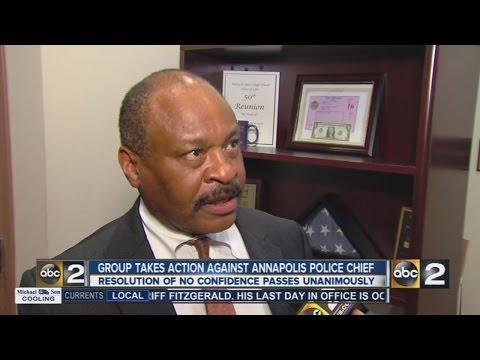 Civil rights group: 'No confidence' in Annapolis police chief