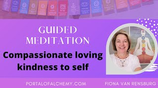 Guided to loving kindness to self