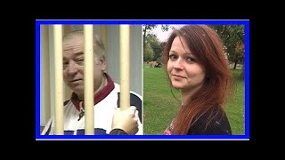 From youtube.com: Sergei Skripal and his daughter poisoned {MID-262239}