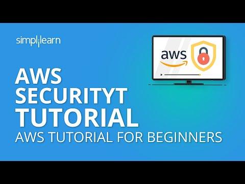 AWS Security Tutorial | AWS Tutorial For Beginners | Simplilearn