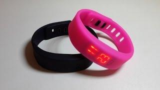 Описание обзор Led часы спортивные светодиодные водонепроницаемые led watch