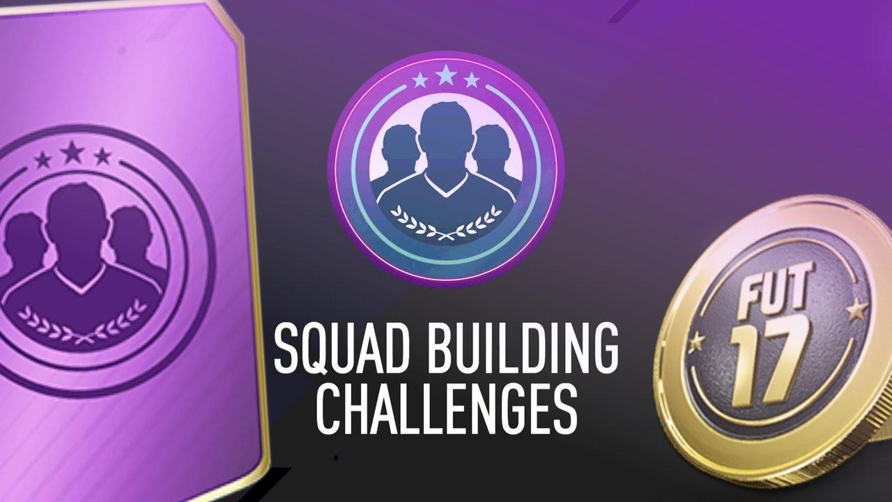 Fifa 17 Squad Building Challenge