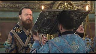 Прямая трансляция вечернего Богослужения из Свято-Ильинского мужского монастыря.