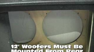 Seismic Audio Speakers 212 Pro Empty Guitar Cabinet