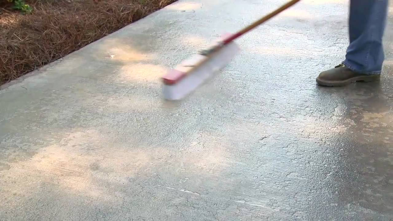 Perfect How To Resurface Concrete   YouTube