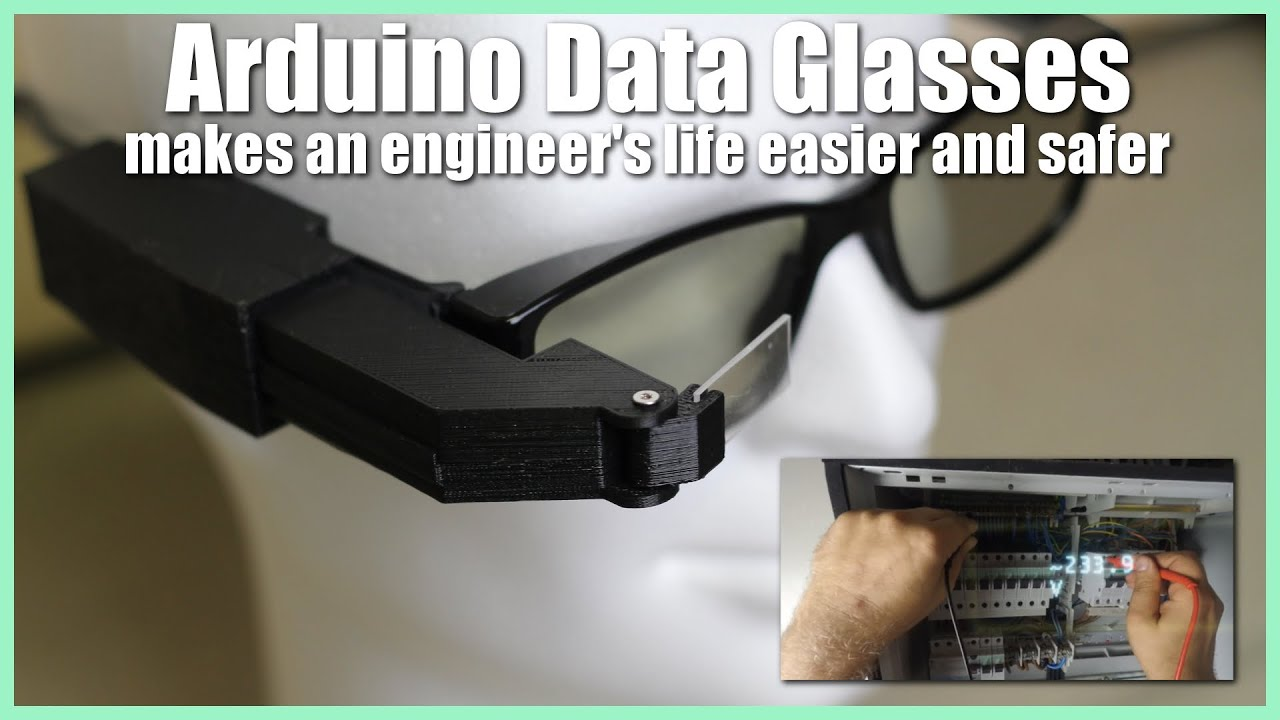 Arduino Data Glasses for My Multimeter : 8 Steps (with Pictures)