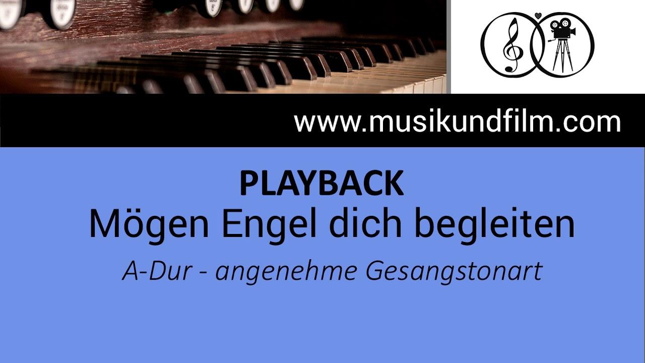 Tauflied Mögen Engel Dich Begleiten Playback Karaoke A Dur Jürgen Grote