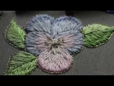 Вышивка Цветы Наборы для вышивания