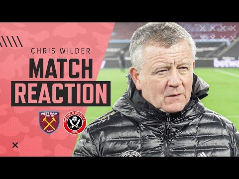 Chris Wilder | Match Reaction Interview | West Ham 3-0 Sheffield United.