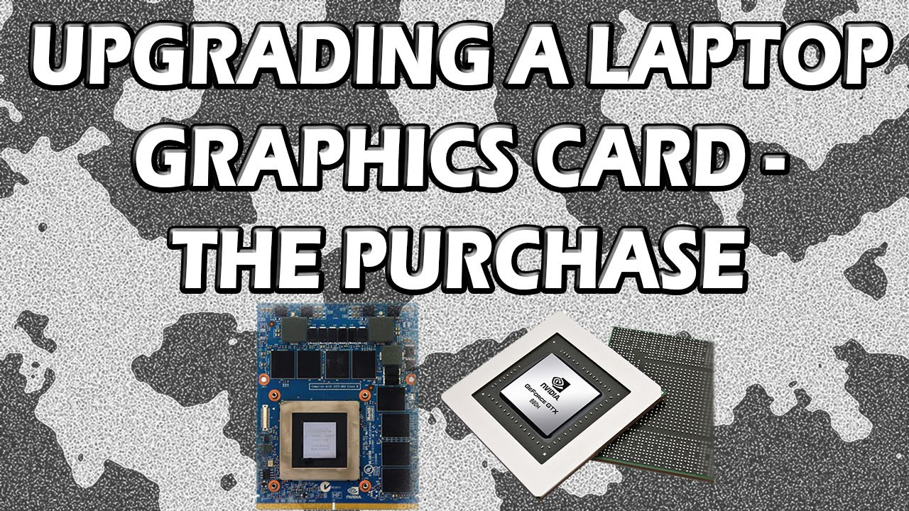 Hp notebook graphics card upgrade