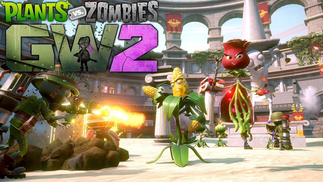 Plants Vs Zombies Garden Warfare 2 Infinity Mode Secret Gnome Vault Youtube