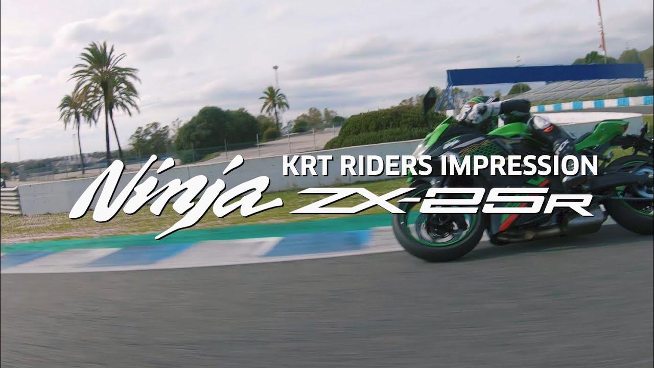 Kawasaki Ninja ZX-25R KRT Rider Impressions