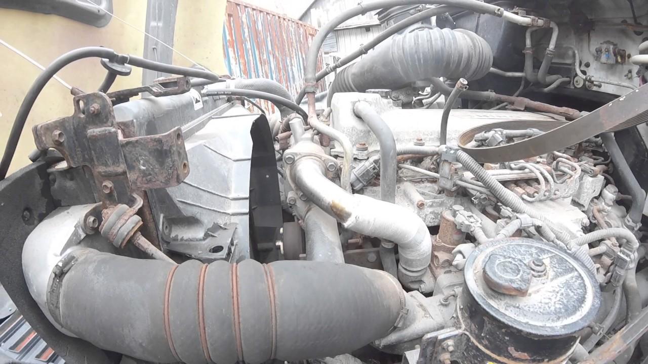 Engine, Hino J08E EGR, 220 hp, Good Runner, Stock #1A1E48335