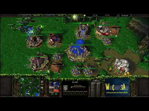 Moon(NE) vs Fly(ORC) - WarCraft 3 Frozen Throne - RN3353