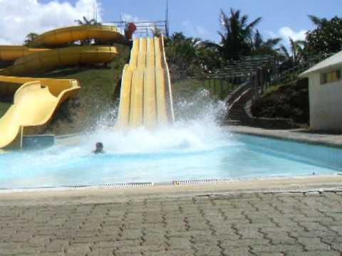 Aqua Park in Mauritius