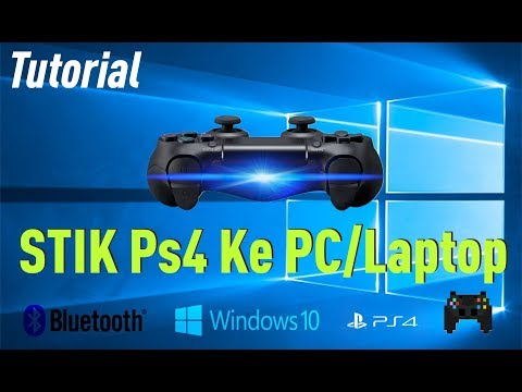 Connect a PS4 controller to a PC or Laptop (USB & Blue...   Doovi