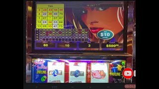 """Gems & Jewels $10 Slot - WARM UP and MAX BET ALL THE WAY - Roller Coaster Play - """"OUT With A WIN"""" screenshot 3"""