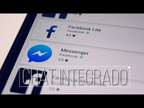 Activar Chat Integrado De La Aplicación De Facebook! Adios Messenger...