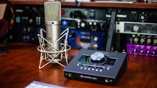 Best Audio Interface | Universal Audio Apollo Twin X Quad