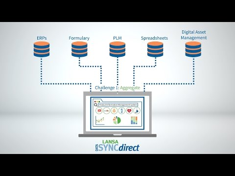 LANSA Data Sync Direct Product Information Management System