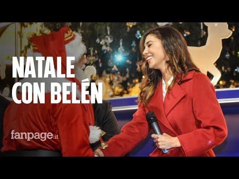 """Belén e Santiago accendono l'albero di Natale Swarovski a Milano: """"Mi sono emozionata"""""""