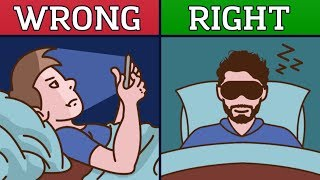 Mitch Manly's Epic Night Time Routine (Animated)