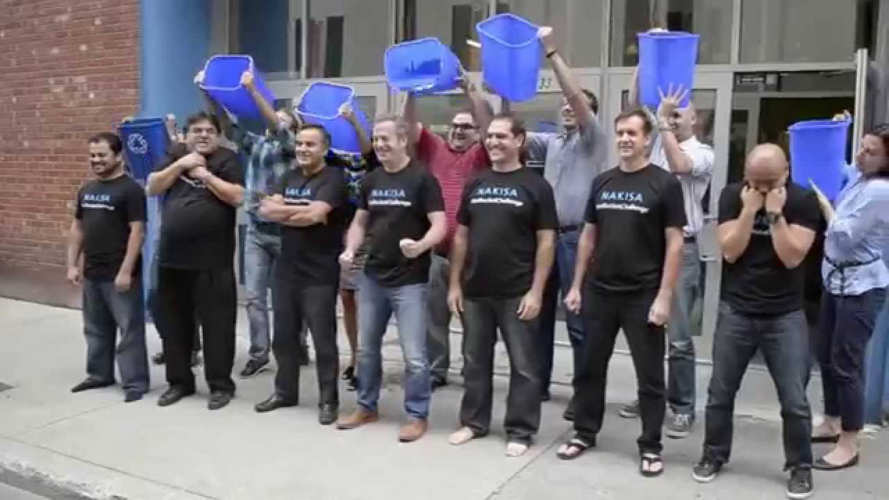 Nakisa ALS Ice Bucket Challenge