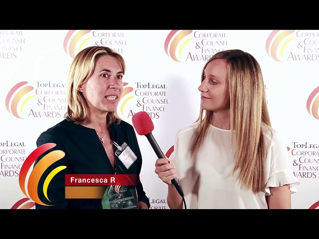 Francesca Renzulli, Nexi - TopLegal Corporate Counsel & Finance Awards 2019