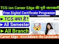 TCS-ion digital learning hub || Career Edge - knockdown the lockdown || How to register in TCS-ion