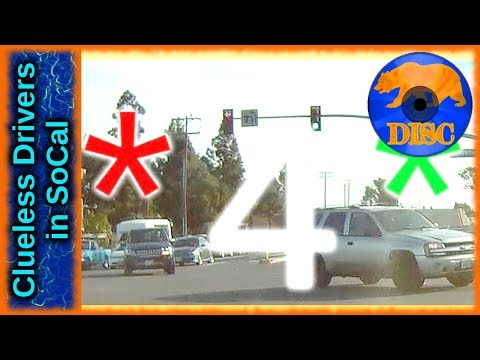 Bad Drivers of Los Angeles Basin 04 - Thanks Viewers & 50+ Subs/Followers!