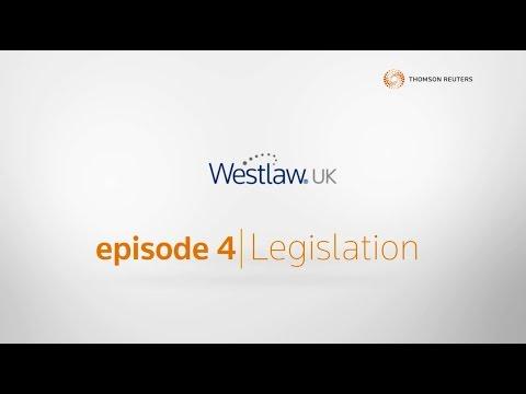 Getting to know Westlaw UK: Legislation