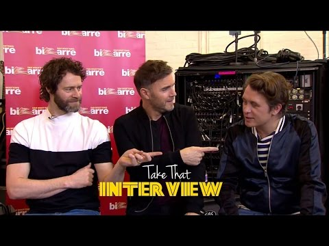 Take That Live Interview | Talks About Album 'Wonderland' and Ed Sheeran