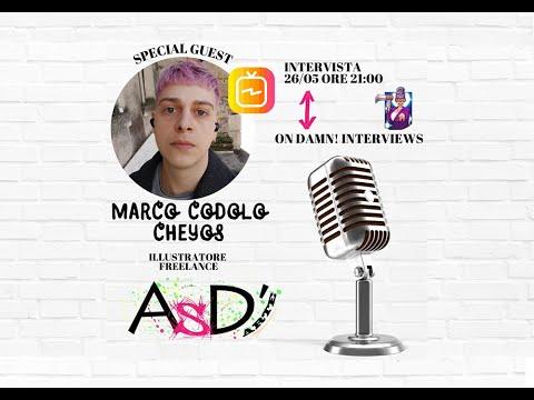 Altro Spazio D'arte e Damn Interviews - Marco Codolo in arte (marco.cheyos)  - 19-05-2021