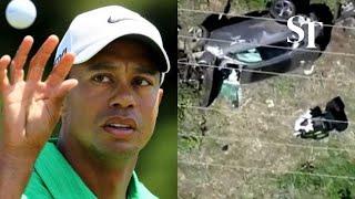 Tiger Woods Hospitalised After Car Accident
