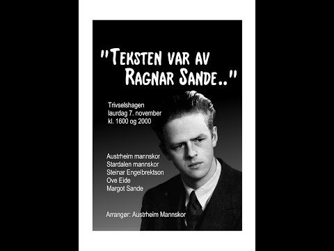 Austrheim mannskor: Ragnar Sande konserten 2015-11-07 heile programmet
